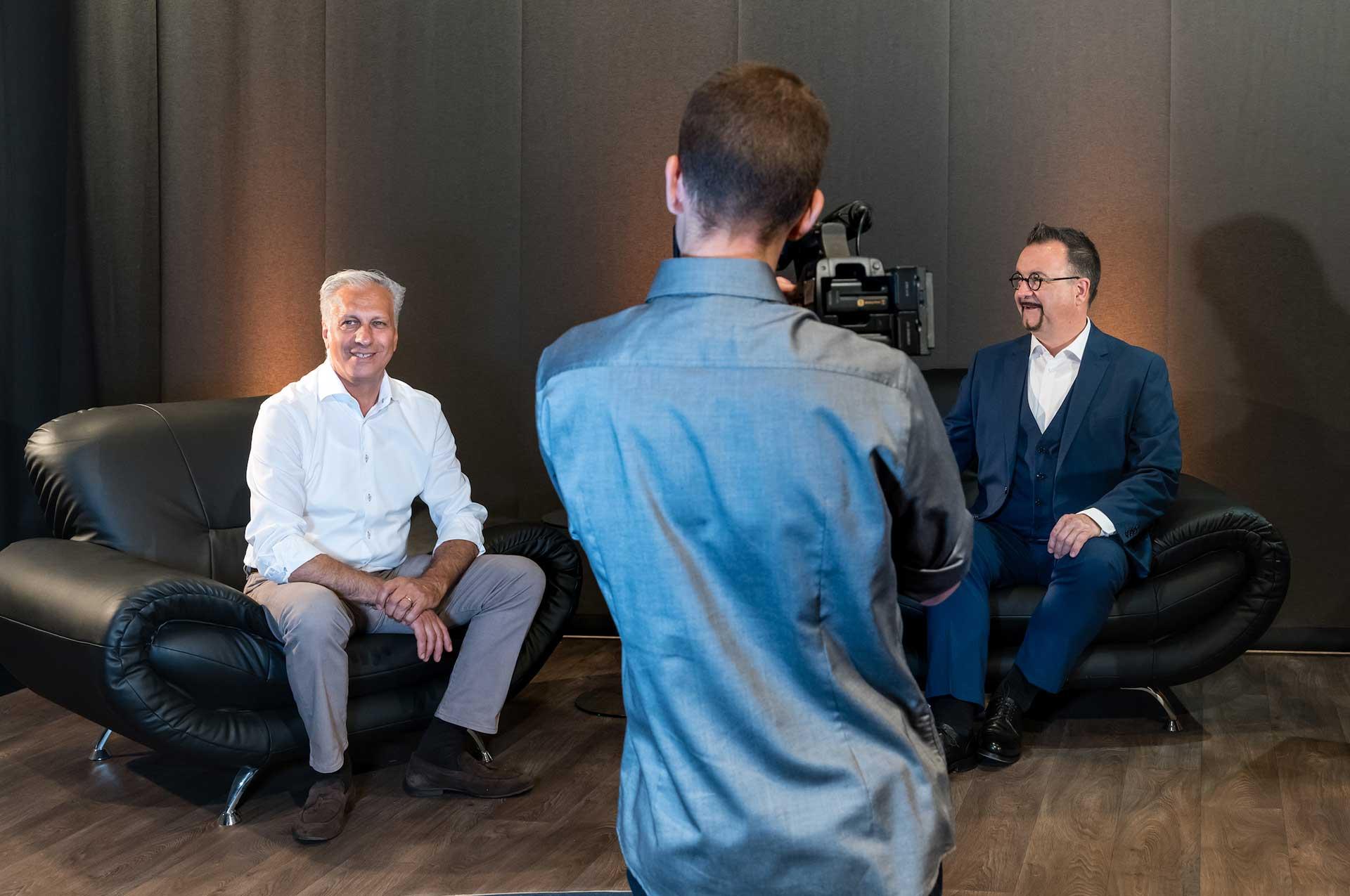 Streamen Sie Ihr Event | Videokonferenz Studio Frankfurt