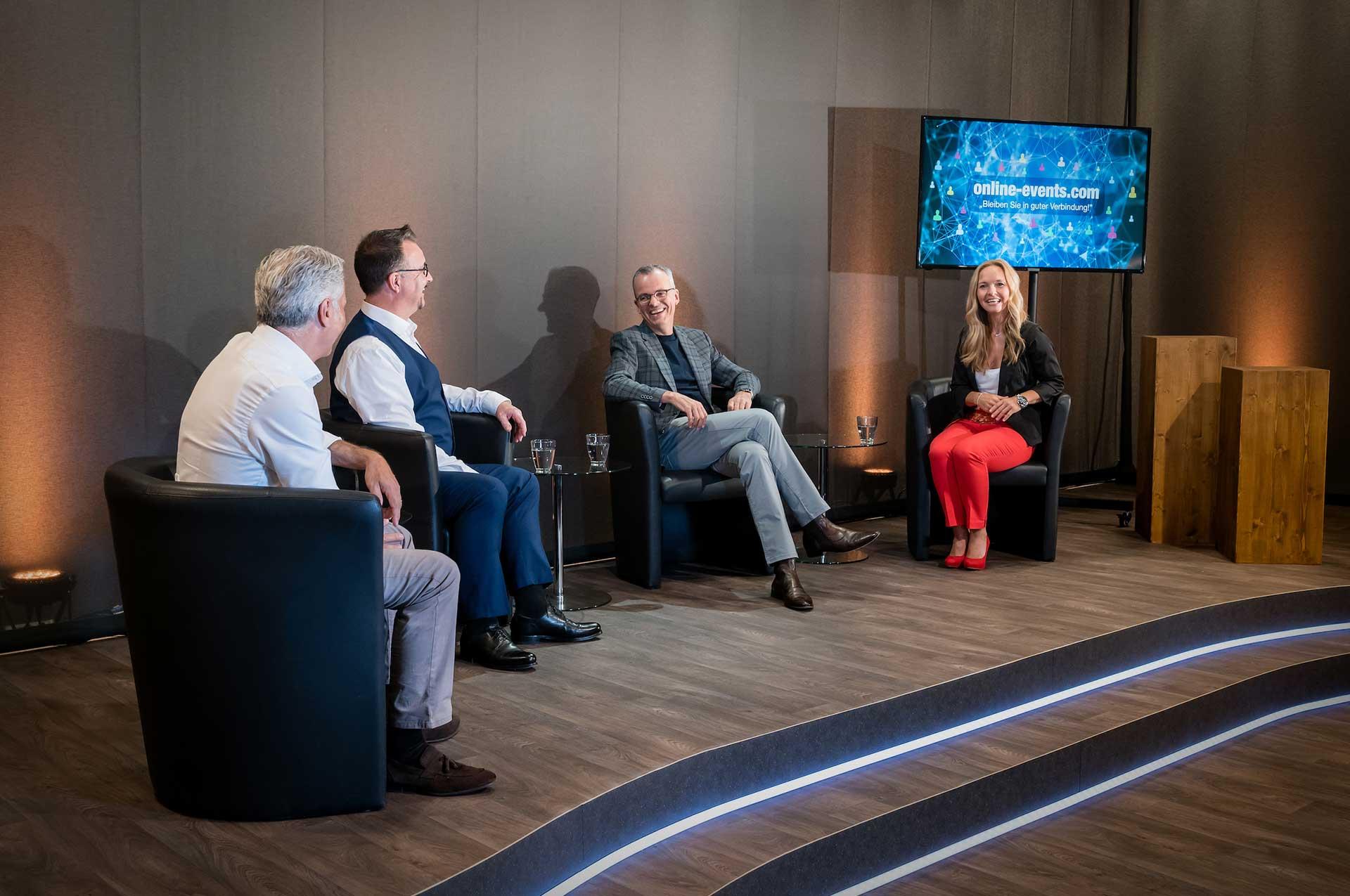 Virtuelle Veranstaltungen | Videokonferenz | Streaming