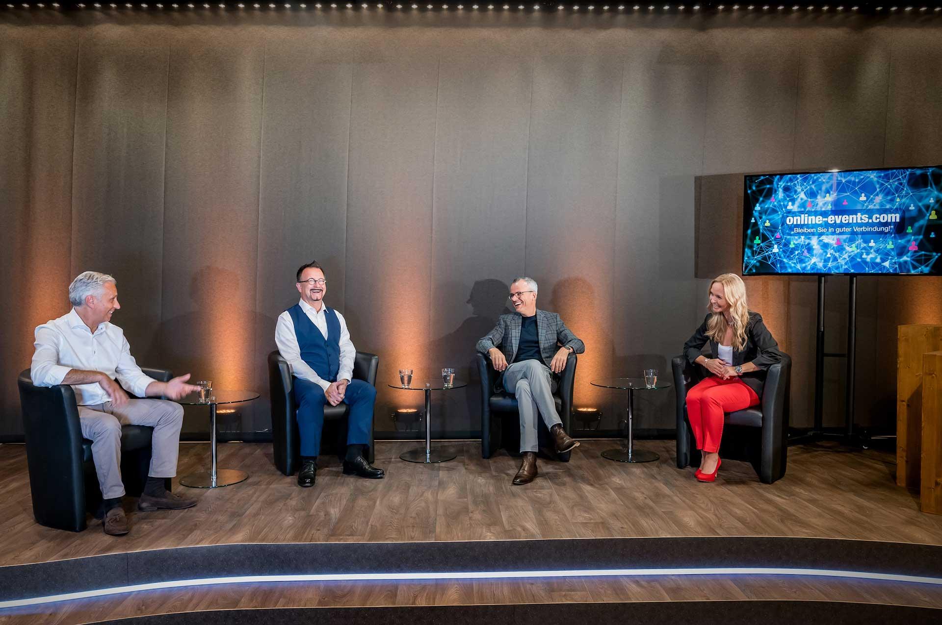 Online Events und Streaming in Frankfurt